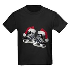 Unique Ice skating christmas T