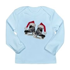 Cute Geek christmas Long Sleeve Infant T-Shirt