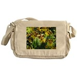 .yellow oncidium. Messenger Bag