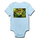 .yellow oncidium. Infant Bodysuit