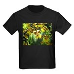 .yellow oncidium. Kids Dark T-Shirt