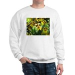 .yellow oncidium. Sweatshirt