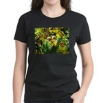 .yellow oncidium. Women's Dark T-Shirt