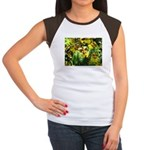 .yellow oncidium. Women's Cap Sleeve T-Shirt