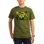 .yellow oncidium. Organic Men's T-Shirt (dark)