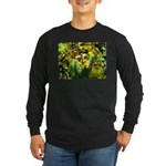 .yellow oncidium. Long Sleeve Dark T-Shirt