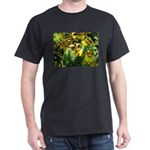 .yellow oncidium. Dark T-Shirt