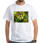 .yellow oncidium. White T-Shirt