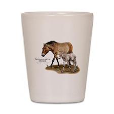 Przewalski's Horse Shot Glass
