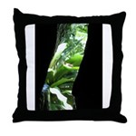 .straight-thru. Throw Pillow