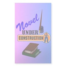 Novel Under Construction Decal