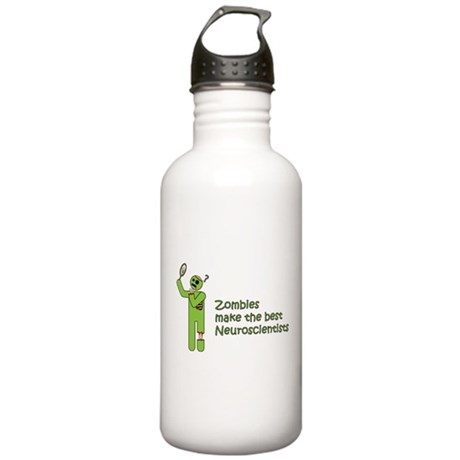 Zombies make the best Neuroscientists Water Bottle