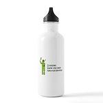 Zombies make the best Neuroscientists Water Bottle