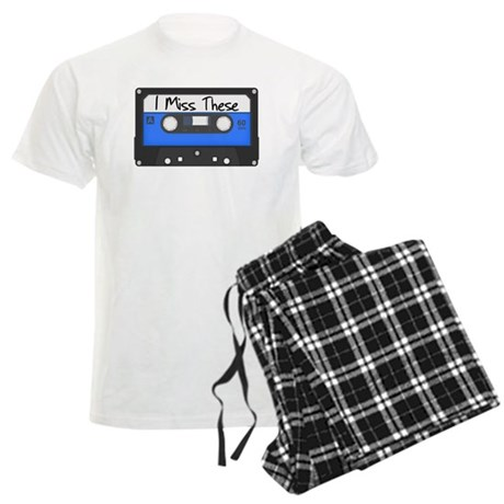 Tape Cassette Never Forget Men's Light Pajamas