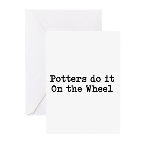 Pottery Greeting Cards (Pk of 20)
