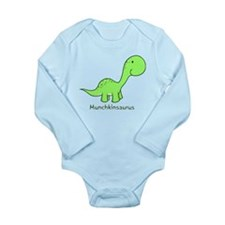 Munchkinsaurus Long Sleeve Infant Bodysuit