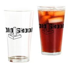 Old Skool Joystick Drinking Glass
