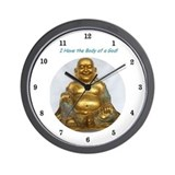 Unique Buddha Wall Clock