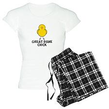 Great Dane Chick Pajamas