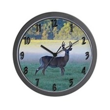 7 point buck Wall Clock
