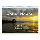 Oahu, Hawaii 2013 Calendar