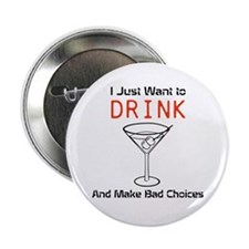 "Funny Shirts & Merchandise 2.25"" Button"