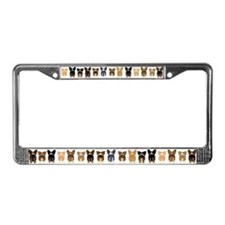 Both Corgi Butts License Plate Frame