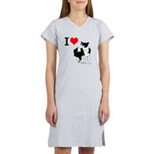 Border Collie Love - Women's Nightshirt