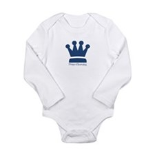 Prince Charming Long Sleeve Infant Bodysuit