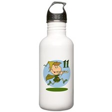 Eleven Pipers Piping Water Bottle