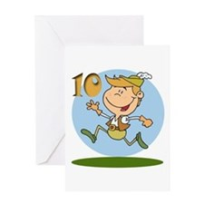 Ten Lords a Leaping Greeting Card