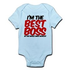 best boss in the world Infant Bodysuit