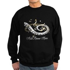 Personalized Piano Musical gi Sweatshirt