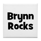 Brynn Rocks Tile Coaster