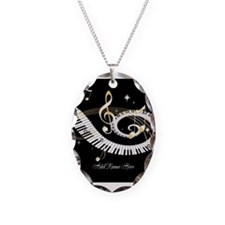 Personalized Piano Musical gi Necklace