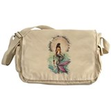 Watercolor Mermaid Messenger Bag