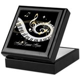 Personalized Piano Musical gi Keepsake Box