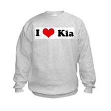 I Love Kia Sweatshirt