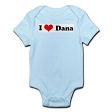 I Love Dana Infant Creeper