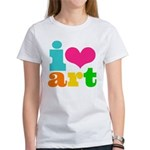I love art Women's T-Shirt