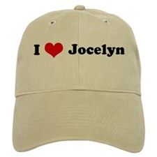 I Love Jocelyn Baseball Cap
