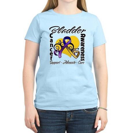 Awareness Bladder Cancer Women's Light T-Shirt