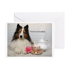 Unique Shelties only shop Greeting Card