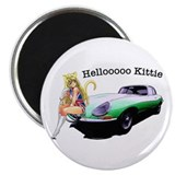E-type Helloooo Kittie Magnet