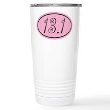 Pink 13.1 Half Marathon Travel Mug