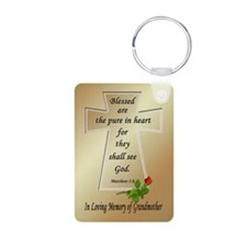 In Loving Memory of Grandmother Keychains