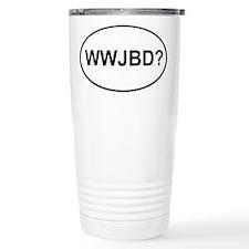 WWJBD Stainless Steel Travel Mug