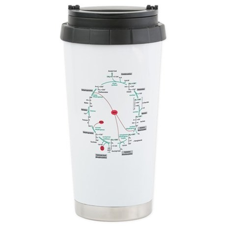 Kreb's Cycle Ceramic Travel Mug