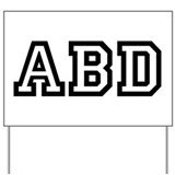 ABD Yard Sign