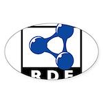 RDF Sticker (Oval 50 pk)